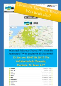Chemnitz Fairtrade Town - Was heißt das? @ Volkshochschule Chemnitz, Raum 4.07